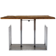 Sisu - tavolo in ferro - ferro trasparente