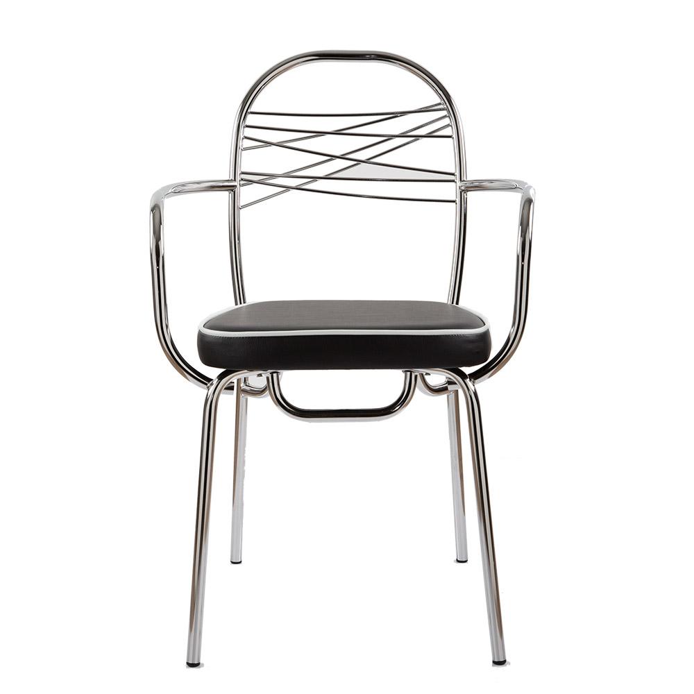 Caipiroska sedia in ferro e legno arredo d 39 interni for Vela arredamenti