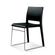 Twin sedia legno